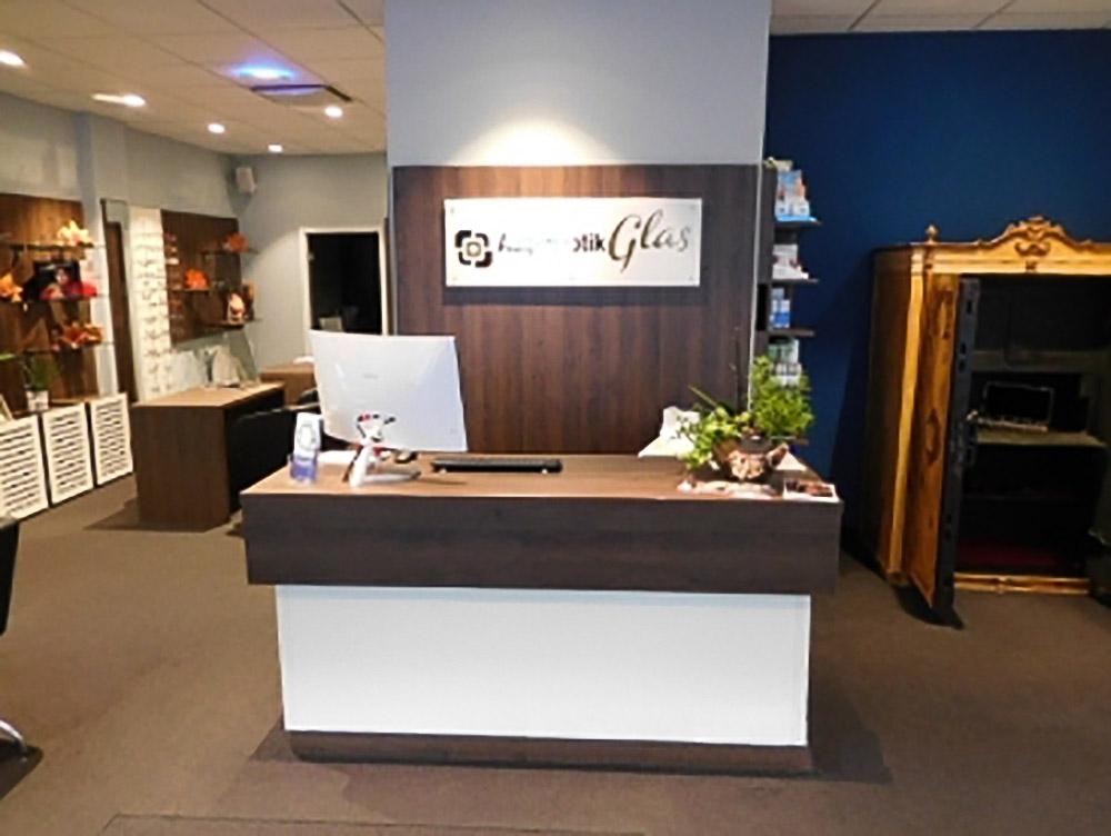 Optiker Glas - Geschäftseinrichtungen